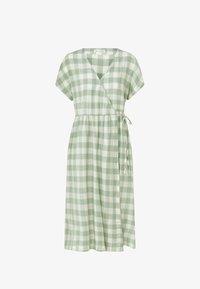 OYSHO - VICHY - Jumper dress - light green - 4
