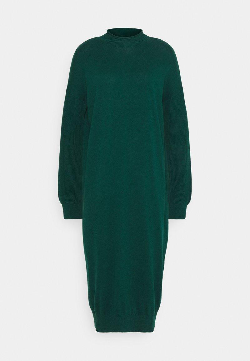 edc by Esprit - ROLLNECK - Jumper dress - dark teal green