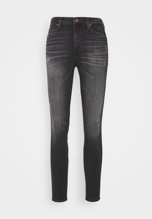 SYLVIA HR SUPER SKNY RBSTD - Jeans Skinny Fit - rudy black
