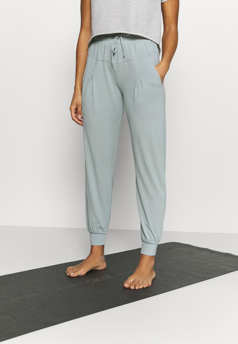 Even&Odd active - Tracksuit bottoms - blue grey