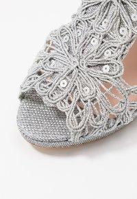 LAB - High heeled sandals - plata - 2