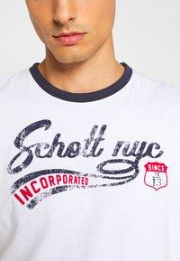 Schott - Triko spotiskem - white - 5