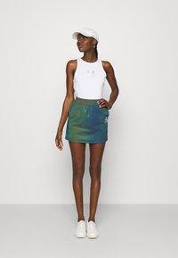 Calvin Klein Jeans - REFLECTIVE MINI SKIRT - Mini skirt - multi-coloured - 1