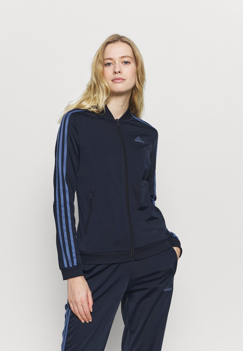 adidas Performance - SET - Tracksuit - dark blue