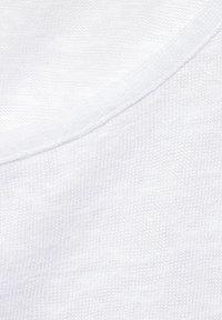 Street One - IM LEINEN LOOK - Basic T-shirt - weiß - 4
