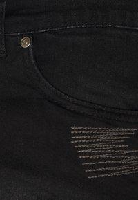 Nominal - REY  - Jeansshorts - black - 3
