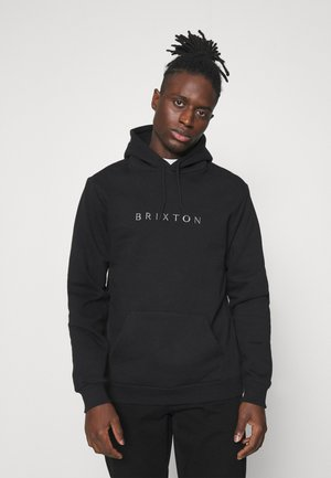 ALPHA LINE HOOD - Sweatshirt - black