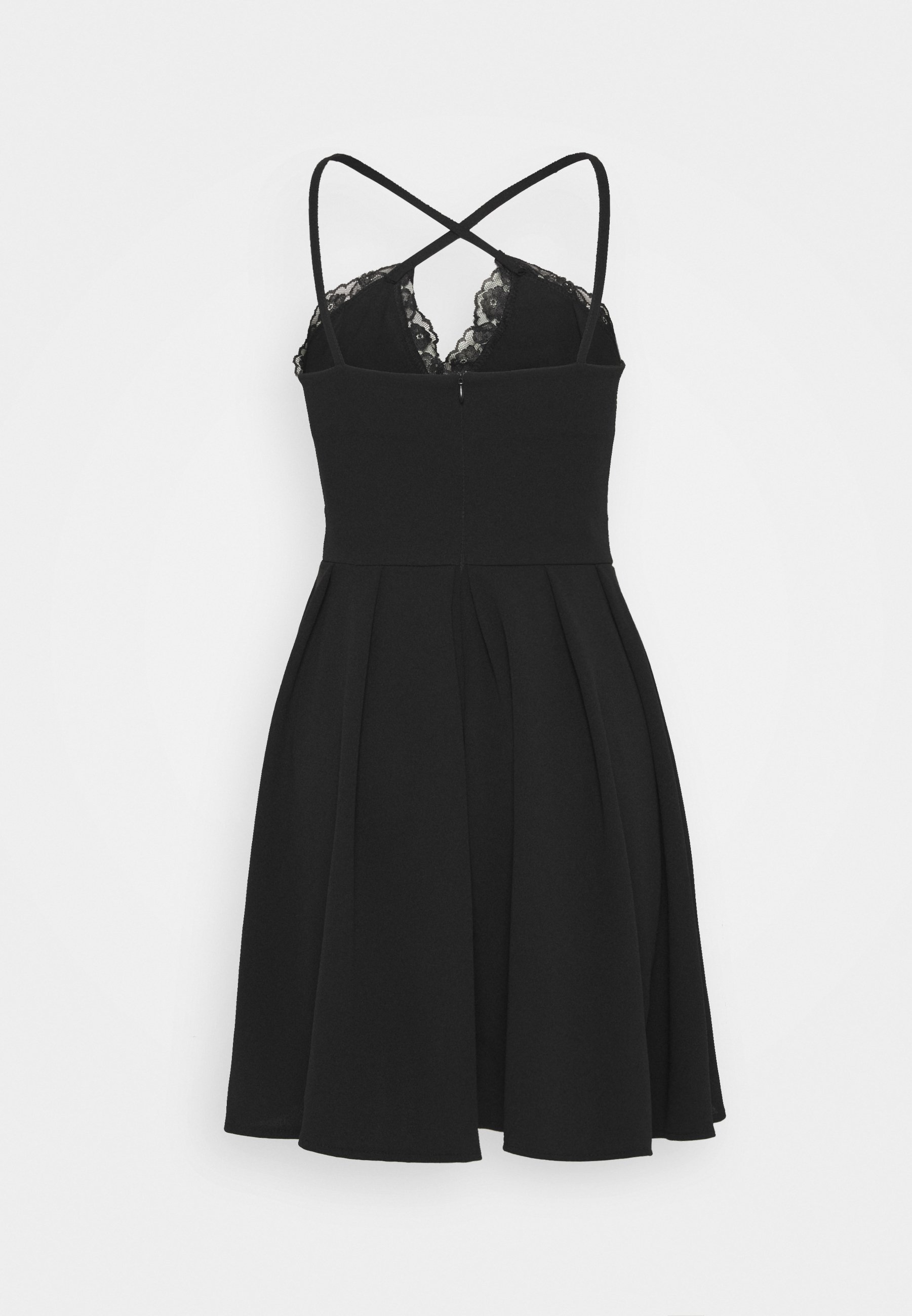 WAL G. SKATER DRESS - Cocktailkjoler / festkjoler - black -  IlFZ8