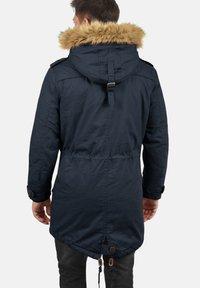 Solid - WINTERJACKE CLARKI TEDDY - Winter coat - insignia b - 1