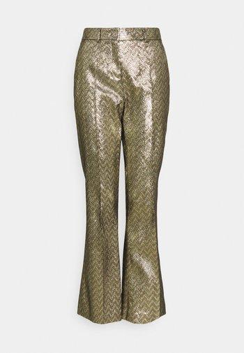 PANTALONE - Trousers - silver