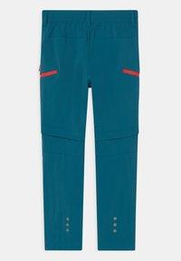 TrollKids - KJERAG ZIP OFF  2-IN-1 UNISEX - Outdoor trousers - petrol/spicy red - 1