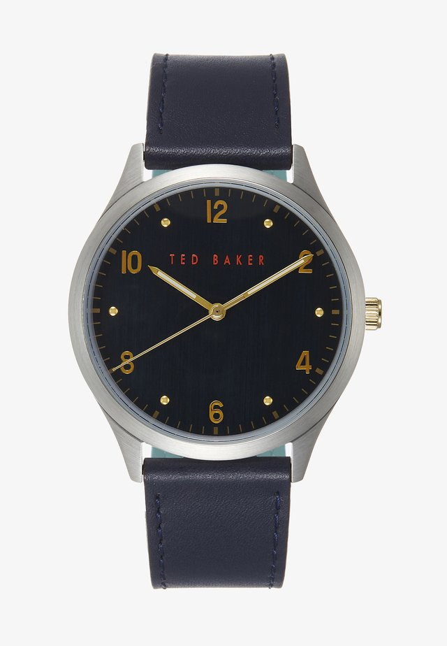 MANHATT - Watch - blue/silver