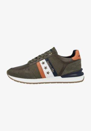 Sneakers laag - olive