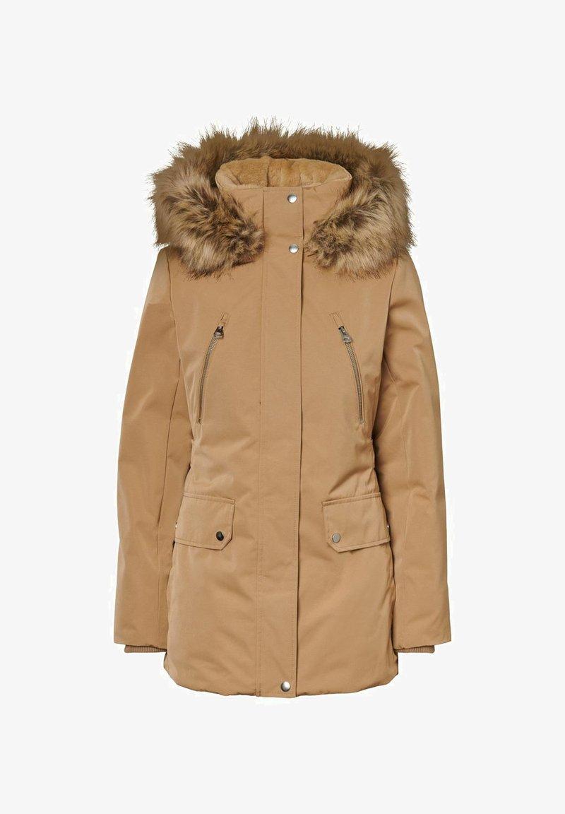 Vero Moda - Winter coat - tigers eye