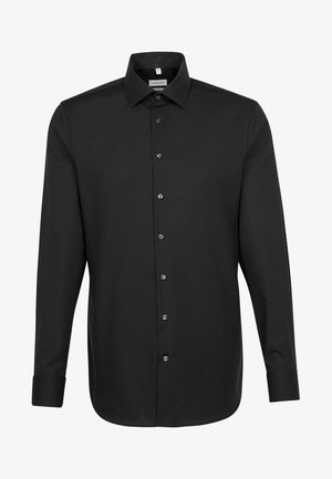 SHAPED FIT - Shirt - black