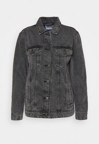 Noisy May - NMOLE  - Denim jacket - dark grey denim - 3