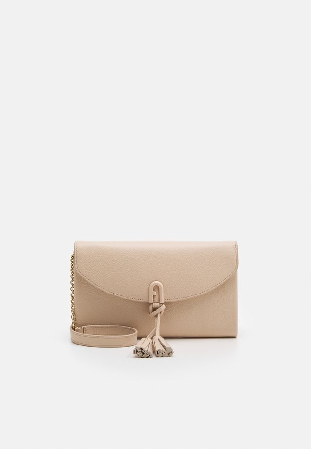 MINI SHOULDER BAG TASSEL - Umhängetasche - ballerina