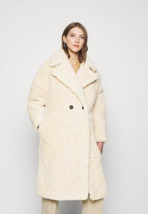 BORG COAT - Classic coat - cream