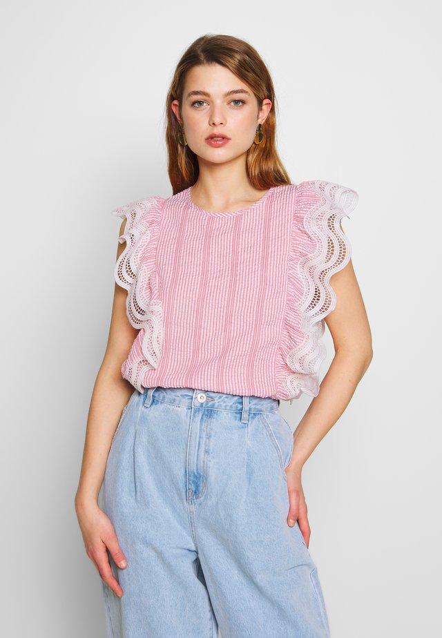 LADIES - Bluzka - peachy pink