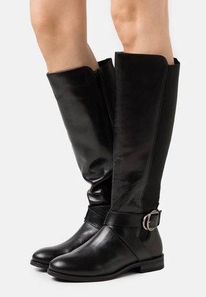 BOJANA - Vysoká obuv - black