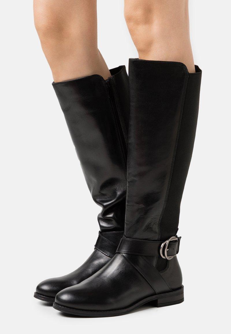 Mexx - BOJANA - Vysoká obuv - black