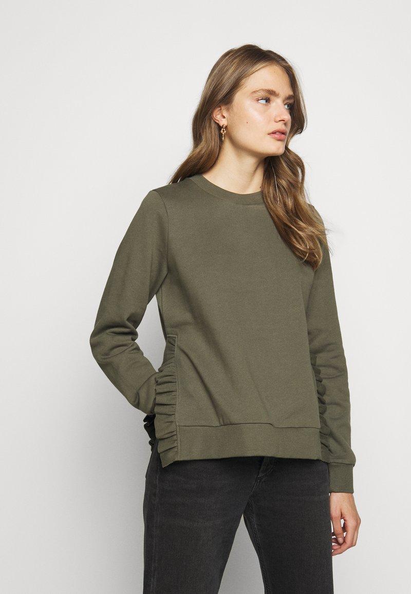 Bruuns Bazaar - RUBINE - Sweatshirt - crocodille