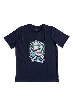 HELL REVIVAL - Print T-shirt - navy blazer