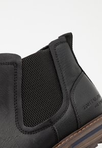 TOM TAILOR - Classic ankle boots - black - 5