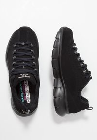 Skechers - SYNERGY 3.0  OUT & ABOUT - Trainers - black - 1
