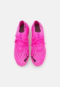 Puma - FUTURE 6.1 NETFIT FG/AG - Chaussures de foot à crampons - luminous pink/black - 3