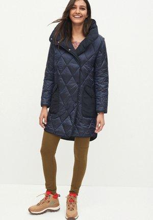 PATCH POCKET  - Winter coat - blue