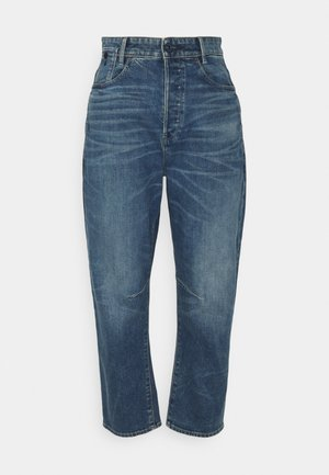C-STAQ 3D BOYFRIEND CROP - Jeans relaxed fit - faded cascade