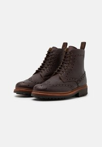 Grenson - FRED - Lace-up ankle boots - dark brown - 1