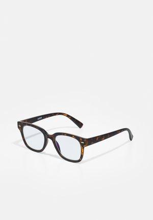 UNISEX - Blue light glasses - brown