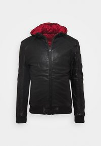 Gipsy - GRAYDON - Leather jacket - black - 6