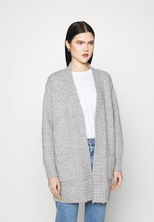 VMKAKA OPEN COATIGAN  - Cardigan - light grey melange