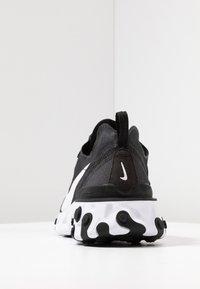 Nike Sportswear - REACT 55 - Sneakers - black/white - 7