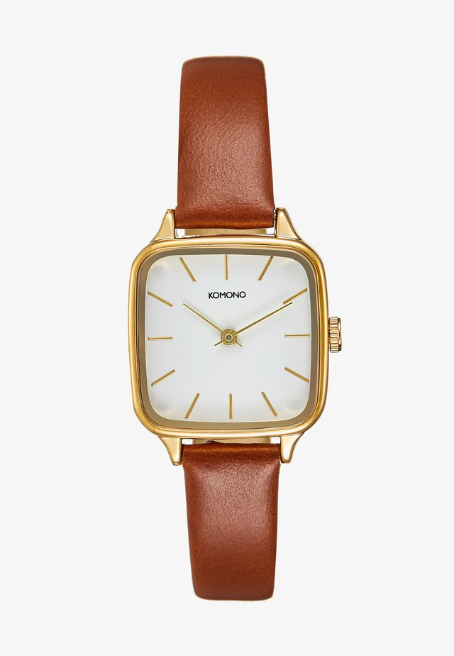 KATE - Orologio - gold-coloured/tan