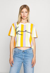 Karl Kani - SIGNATURE - Print T-shirt - white - 0