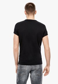 s.Oliver - Basic T-shirt - black - 2