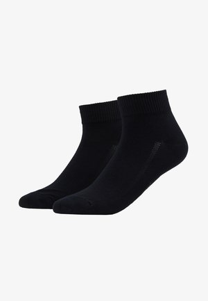 MID CUT 2 PACK - Socks - jet black