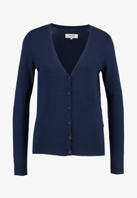 Zalando Essentials - Chaqueta de punto - dark blue - 3