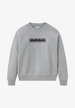 BEBEL CREW - Sweatshirt - medium grey melange