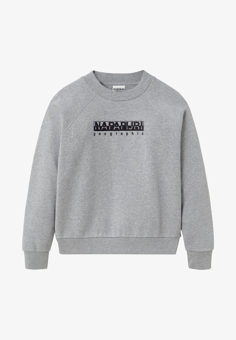 Napapijri - BEBEL CREW - Sweatshirt - medium grey melange