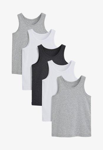 5 PACK - Top - grey
