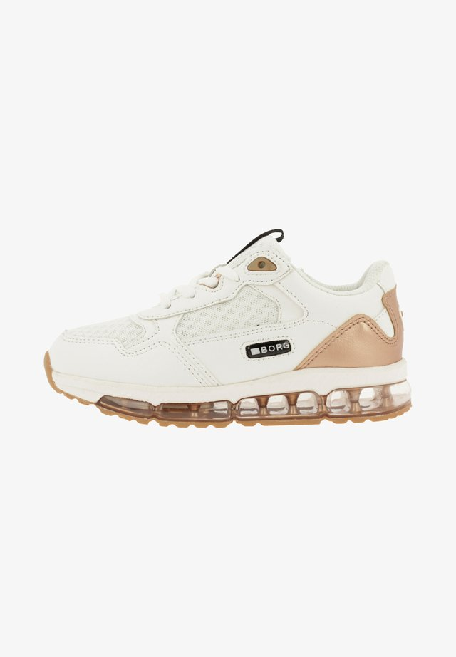MSH  - Sneakers laag - white/gold