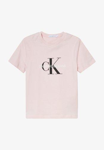 MONOGRAM LOGO UNISEX - T-shirt med print - pink