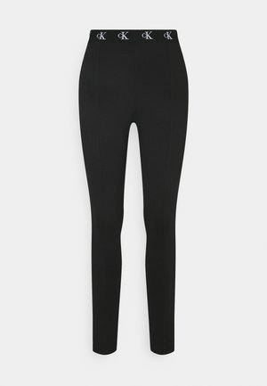 MILANO TRIM - Leggings - Hosen - black