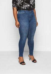 JUNAROSE - by VERO MODA - JRFOUR - Slim fit jeans - medium blue denim - 0