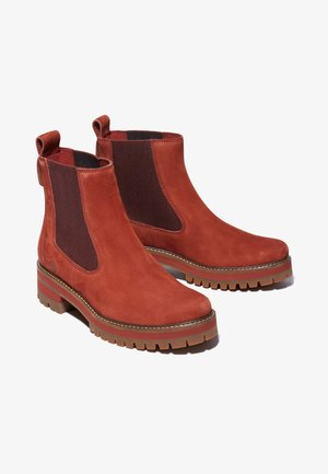 COURMAYEUR VALLEY  - Classic ankle boots - cherry mahogany
